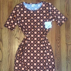 LuLaRoe XL Julia Sheath Dress